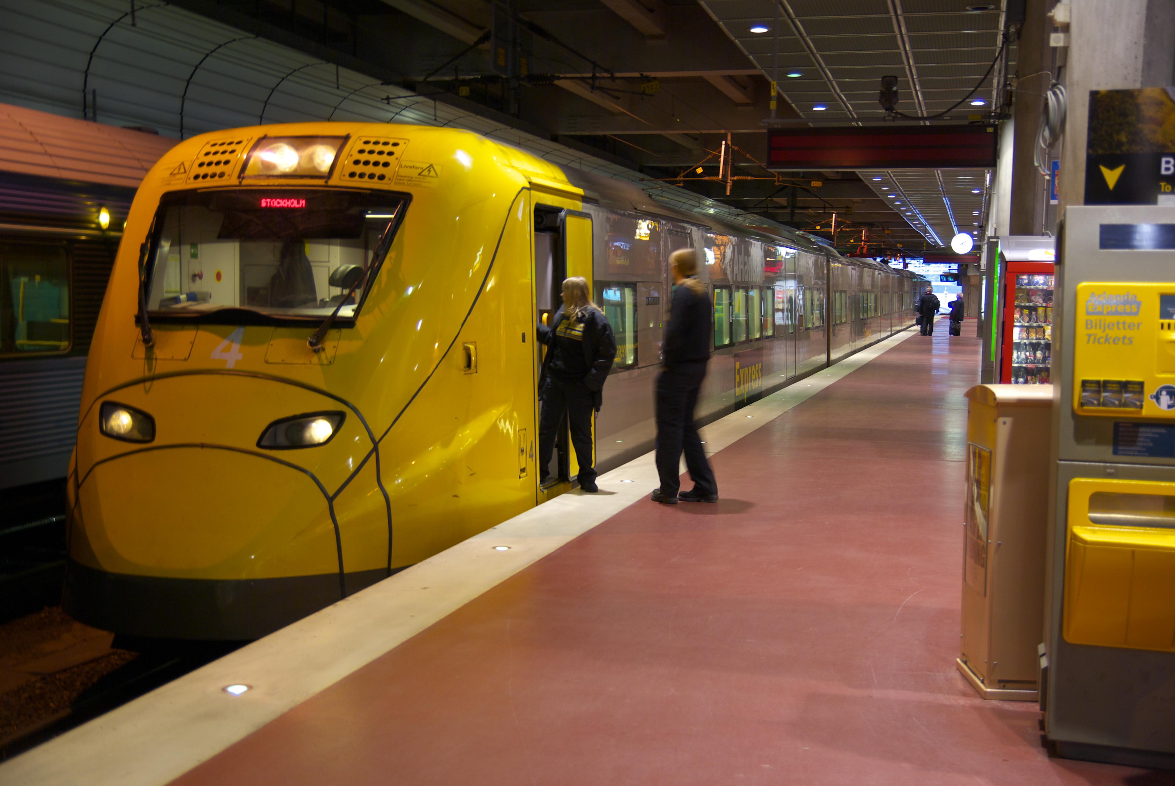 Få bästa priset på Arlanda Express